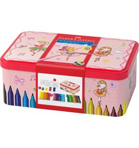 Faber-Castell - Connector felt tip pen set Ballerina, 45 pieces