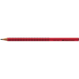 Faber-Castell - Graphite pencil Grip 2001 red B