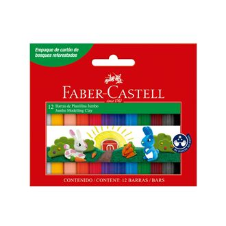 Faber-Castell - Modelling clay Jumbo set of 12