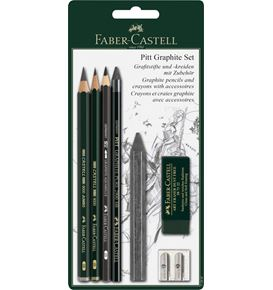 Faber-Castell - Pitt Graphite set, 7 pieces