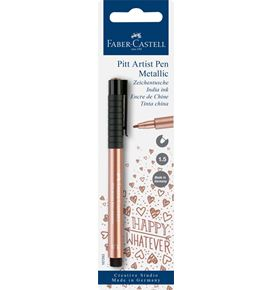Faber-Castell - Pitt Artist Pen Metallic 1.5 India ink pen, copper