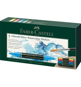Faber-Castell - Albrecht Dürer Watercolour Marker, wallet of 5